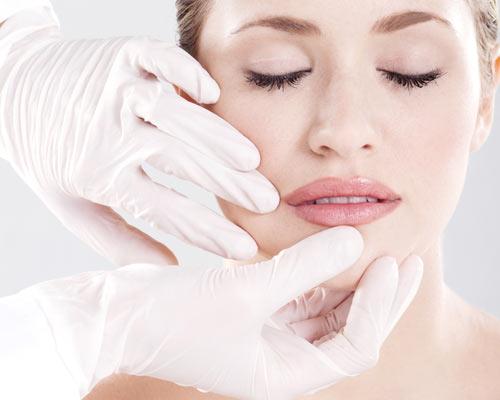 Коррекция деформации кончика носа